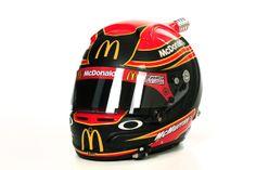 The helmet of Jamie McMurray