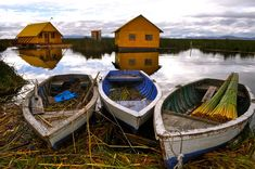 Boats at Lake Titicaca. Just found this featured on our San Francisco neighbor's website, Pictory.