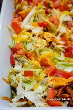 This Easy Taco Casserole has a surprise crust layered with all of the spicy flavor combinations you love. It's all mellowed perfectly by the cream cheese and cheddar cheese. It's a casserole that will be requested often in your household!