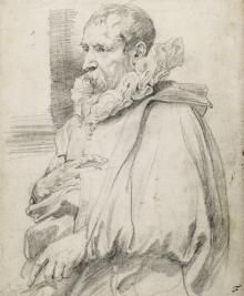 size: Giclee Print: Pieter Brueghel the Younger by Sir Anthony Van Dyck : Anthony Van Dyck, Sir Anthony, Chalk Drawings, Art Drawings, Graphite Drawings, Academic Drawing, Original Paintings For Sale, Portraits, Old Master