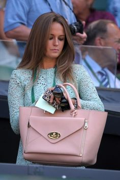 Kim Sears Wows In Victoria Beckham At Star-Studded Wimbledon Final