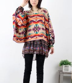 Hey, I found this really awesome Etsy listing at https://www.etsy.com/listing/183222917/bohemian-knitwear-knitted-plus-size