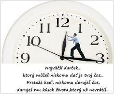 Obrazok - Dať svoj čas