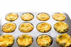 Ham and cheese baked egg cups are the ideal, protein packed low carb breakfast that can be made ahead and quickly reheated on busy weekday mornings. Protein Packed Breakfast, Low Carb Breakfast, Healthy Breakfast Recipes, Baked Egg Cups, Eggs In Muffin Tin, Low Carb Recipes, Cooking Recipes, Lemon Bowl, Fat Free Milk