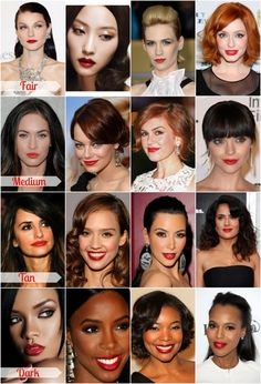 Red Lips for Every Skin Tone - Re Salon and Med Spa