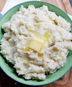 Almond Breeze mashed potatoes
