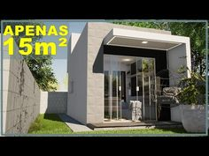 Small Modern House Plans, Mini, Outdoor Decor, Youtube, Tropical, Sleeper Couch, Interior Decorating, Pine Tree, Micro Homes