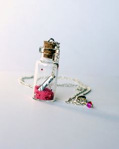 I Love You Pixie Dust Necklace Fairy Dust Necklace on a by Market1,