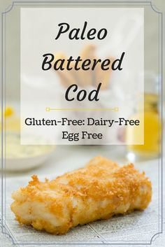 ... with a light and crispy egg-free, gluten-free and dairy-free batter
