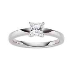 #Verlobungsring aus echtem Sterling Silber - von Viventy. #wedding #bridal