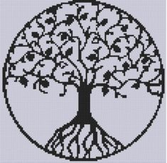 Looking for your next project? You're going to love Tree of Life Cross Stitch Pattern  by designer Motherbeedesigns.