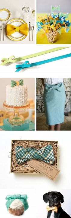 When we get there we could totally do this to the napkins with ribbon on each place setting!