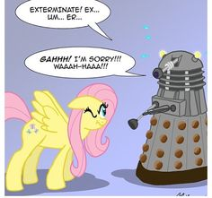 DOCTOR WHO AND MLP!!!!!!!
