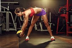 Try the Medicine Ball Chop to sculpt your entire core. WORKS: INTERCOSTALS, OBLIQUES, ENTIRE CORE