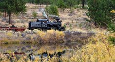 The Sumpter Valley RailRoad's Fall Foliage Photo Train
