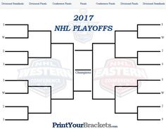 NHL Playoff Bracket 2017