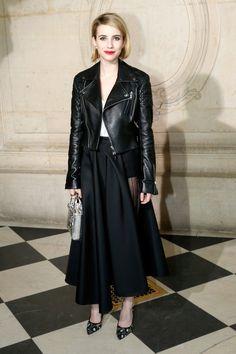 Emma Roberts at Christian Dior 2014