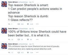 Stats Britain vs Sherlock