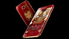 A limited edition Iron Man-themed Samsung Galaxy S6 Edge just sold for more than $91,000 in China.
