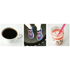 O tempo não pára... Voltando para rotina: café, hiit e kefir de leite batido com cranberry e coco!