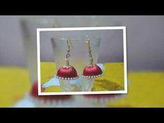 YouTube !! Silk thread earrings collection