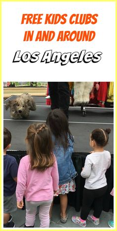 Free Kids Clubs are excellent for parents looking for something fun (and free) to do with their kids during the week. Check out our list of Kids clubs all over the LA area. La With Kids, Los Angeles With Kids, Stuff To Do, Things To Do, Los Angeles Neighborhoods, Puppet Show, Kids Events, The Neighbourhood, Parents