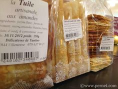 Tender and crispy delicacies from artisanal bakers Tuile, Artisanal, Creme, Dairy, Food, Products, Almond, Eten, Meals