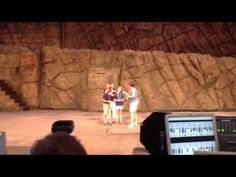 Soldier Surprises Family on Stage at Disney World - laughter and tears at the same time (mine)!