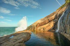 Cachoeira do Saco Bravo, em Paraty (RJ)