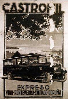 Castromil: El inicio del transporte de viajeros