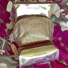 Victoria secret set make up bag Make up bag Victoria's Secret Bags Cosmetic Bags & Cases
