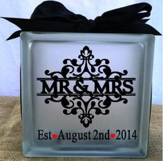 Personalized Wedding Decor Wedding Date Mr & by LiveLaughLoveOcean                                                                                                                                                                                 More
