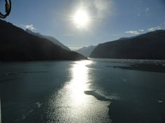Tracy Arm sunset