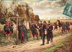 Les prisonniers oct 1870  Jency /marchet_lucien_
