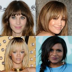Fringes are a bit of a long-term commitment. When you're sure you want one, there's still about eighty styles to choose from before you go for the chop.