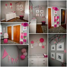 pink and grey nurserys - Bing Images