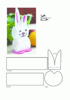 Easy Easter Crafts for Kids – Preschoolers, Toddlers, Kindergarten Easter Arts And Crafts, Bunny Crafts, Easter Crafts For Kids, Spring Crafts, Toddler Crafts, Diy For Kids, Fabric Crafts, Paper Crafts, Easter Fabric
