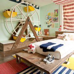 Habitaciones para ni os on pinterest creative beds - Habitacion para tres ninos ...