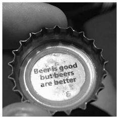 Why yes beer cap, that is a very good point. - Imgur #beerquotes