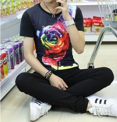 Flowers T shirt men/women casual 3d t shirt Nice print Tupac/Smoking dog/cat Weeds tshirt fashion-in T-Shirts from Men's Clothing & Accessories on Aliexpress.com | Alibaba Group