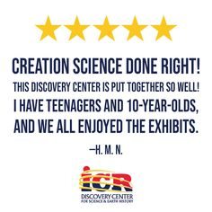 Fantastic review from a fan on TripAdvisor! We can't wait to reopen for YOU to experience the ICR Discovery Center! Institute For Creation Research, Veterans Discounts, Get Tickets, 10 Year Old, Plan Your Trip, Trip Planning, Discovery, Trip Advisor, Need To Know