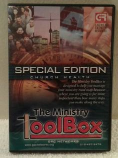 Special Edition Church Health Software The Ministry Toolbox Windows 98 2000 XP