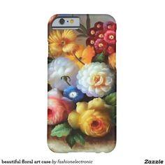 beautiful floral art case