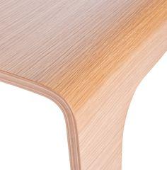 Beam Seat oak Alain Berteau Lensvelt detail