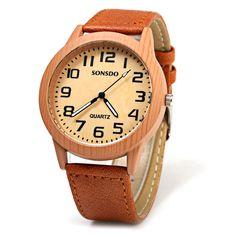$5.04 SONSDO 6635 Кварцевые наручные часы унисекс с корпусом