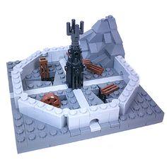 Lego Space Station, Lego Village, Lego Custom Minifigures, Micro Lego, Dragon Sketch, Lego Castle, Cool Lego Creations, Lego Worlds, Lego Design