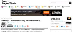 Six things I learned launching a MarTech startup Logo Design, Graphic Design, February 2015, Canoeing, Blood Sugar, Handbags Michael Kors, Lisbon, Lamborghini, All About Time