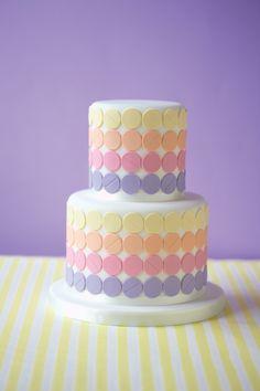 bunt, Farbverlauf, pastell Torte