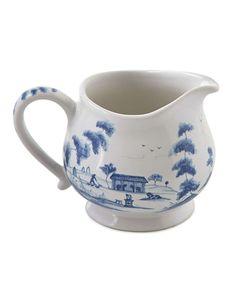 Country Estate Delft Blue Creamer
