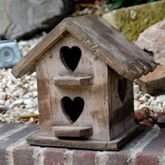 Shabby Chic Distressed Heart Birdhouse | Flickr - Photo Sharing!